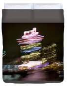 Amsterdam The Netherlands A'dam Tower Abstract At Night. Duvet Cover