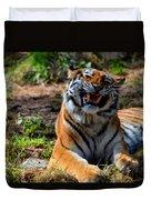 Amur Tiger 7 Duvet Cover