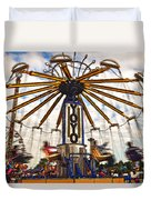 Amusement Park Duvet Cover