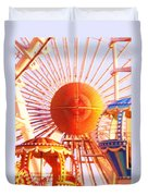 Amusement Rides Duvet Cover