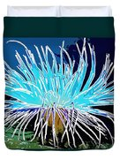 An Abstract Scene Of Sea Anemone 1 Duvet Cover