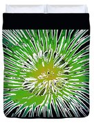 An Abstract Scene Of Sea Anemone 2 Duvet Cover