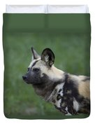 An African Hunting Dog Duvet Cover