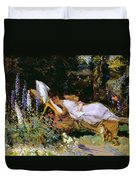 An Afternoon Nap Duvet Cover by Harry Mitten Wilson