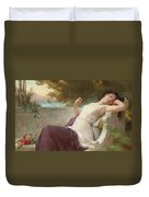 An Afternoon Rest Duvet Cover