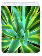 An Agave In Color  Duvet Cover