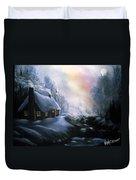 An Alaskan Night Duvet Cover