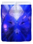 An Alien Visage  Duvet Cover