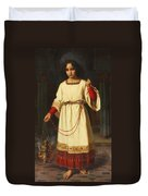 An Altar Boy Duvet Cover by Abraham Solomon