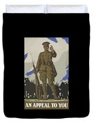 An Appeal To You Duvet Cover