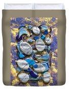 An Arrangement Of Stones Duvet Cover