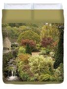 An Autumn Garden  Duvet Cover