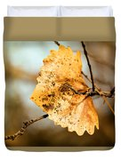 An Autumn Leaf Suspended Duvet Cover