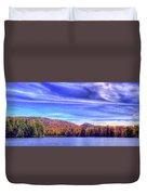 An Autumn Panorama Duvet Cover