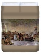 An Egyptian Feast Duvet Cover