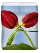 An Embrace Of Tulips Duvet Cover