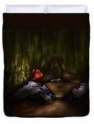 An Enchanted Visit Duvet Cover
