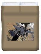 An F-15 Strike Eagle Prepares Duvet Cover