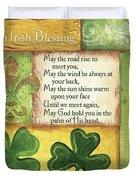 An Irish Blessing Duvet Cover