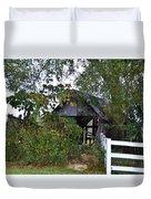 An Old Barn Duvet Cover