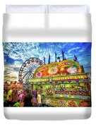 An Old Fashioned Midway Duvet Cover