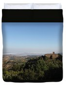 An Old House In The Tuscany Hills Duvet Cover
