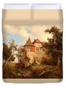An Old Hunting Lodge Duvet Cover