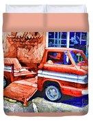 An Old Pickup Truck 2 Duvet Cover