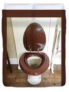 An Old Toilet Duvet Cover