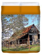 An Old Weathered Barn Duvet Cover