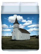 An Old Wooden Church Duvet Cover