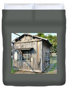 An Old Wooden Shack Duvet Cover