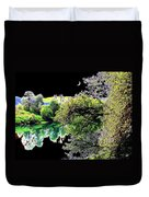 An Umpqua Night Duvet Cover