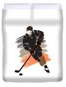 Anaheim Ducks Player Shirt Duvet Cover