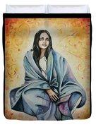 Ananda Mayi Ma Duvet Cover