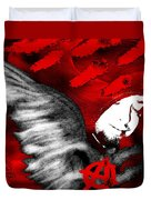 Anarchy Angel Duvet Cover