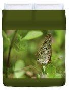 Anartia Butterfly In Wonderland  Duvet Cover