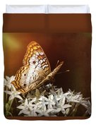 Anartia Jatrophae - White Peacock Butterfly  Duvet Cover