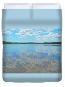 Anasagunticook Lake, Canton, Me, Usa 10 Duvet Cover