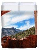 Anasazi Cliff Dwellings #21 Duvet Cover