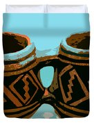 Anasazi Double Mug Duvet Cover
