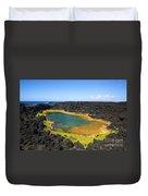 Anchialine Pond Duvet Cover