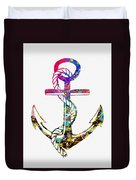 Anchor-colorful Duvet Cover