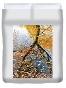 Anchorage In Autumn Duvet Cover