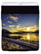 Anchorage Sunrise Duvet Cover