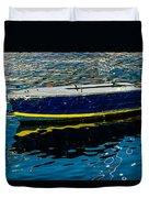 Anchored Boat Duvet Cover