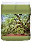 Ancient Angel Oak Tree  Duvet Cover