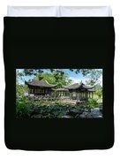 Ancient Chinese Architecture Duvet Cover