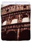Ancient Colosseum, Rome Duvet Cover