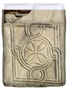 Ancient Cross Pattee Duvet Cover